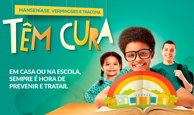 Escolas públicas realizam Campanha Nacional de Hanseníase e outras doenças