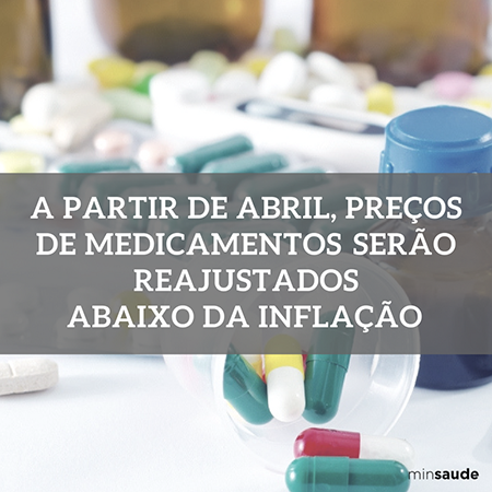 Medicamentos terão reajustes abaixo da inflação