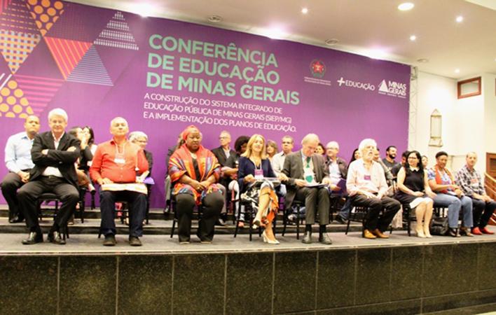 Conferência de Educação de Minas Gerais promove discussão sobre Sistema Integrado de Educação Pública no Estado