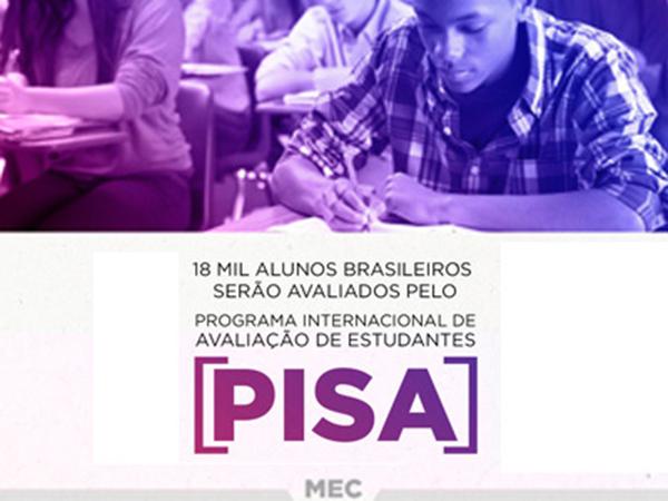 Educação Básica – Pisa será aplicado para 18 mil estudantes de 661 escolas