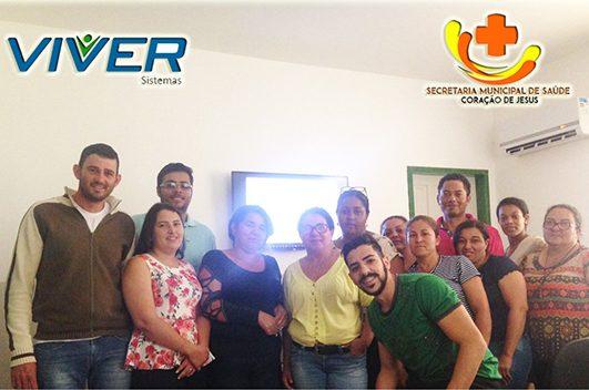 Cliente Vivver | Servidores de Coração de Jesus/MG participam de capacitação para utilizar o Sistema Vivver Web