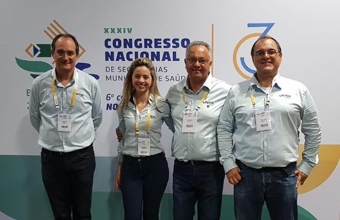 Evento – 34º Congresso de Secretarias Municipais de Saúde