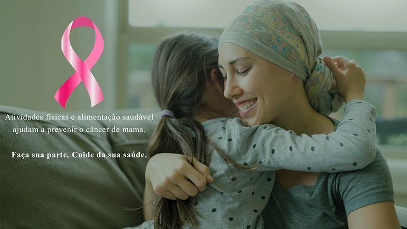 Outubro Rosa – 12% das mortes por câncer de mama no Brasil são atribuíveis ao sedentarismo