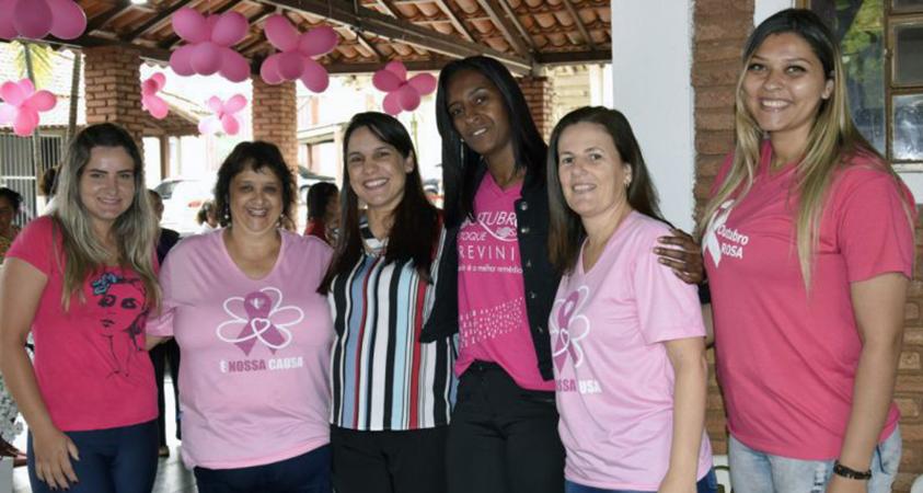 Cliente Vivver – Prefeitura de Passos/MG promove mais uma Ação no Outubro Rosa