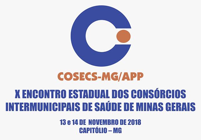 X Encontro Estadual dos Consórcios Intermunicipais de Saúde de Minas Gerais