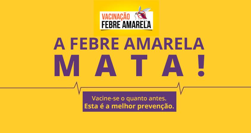 Febre amarela – Risco se aproxima e Ministério alerta para a vacinação