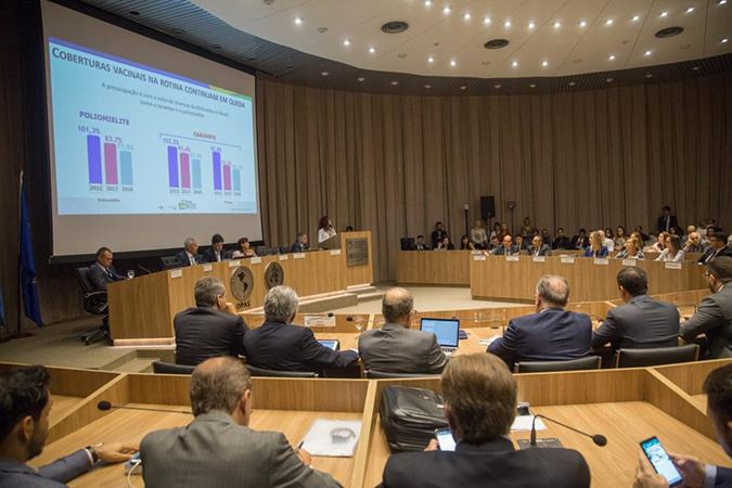 Saúde Pública – Cobertura vacinal e transmissão de sarampo são destaques da primeira Comissão Intergestores Tripartite do ano