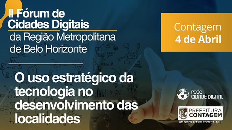 II Fórum de Cidades Digitais reúne gestores da Grande BH em busca de tecnologia e inovação