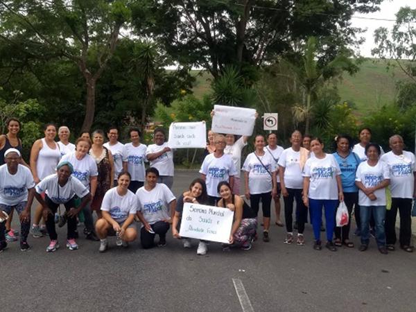 Cliente Vivver – Urucânia/MG celebra o Dia Mundial da Atividade Física e Saúde