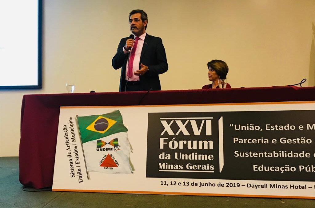 Educação – Minas Gerais encerra rodada de Fóruns Estaduais da Undime
