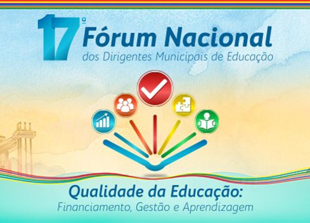 Educação – Inscrições abertas para o 17º Fórum Nacional da Undime
