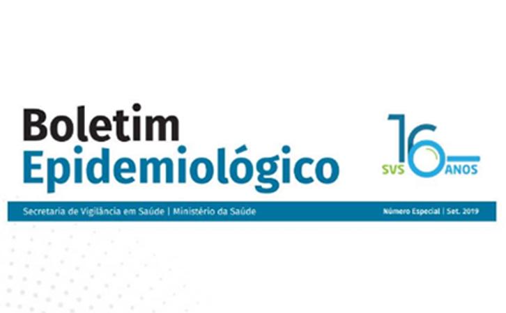 Boletim Epidemiológico – Saúde lança publicação com dados de doenças que atingiram o país nos últimos 16 anos