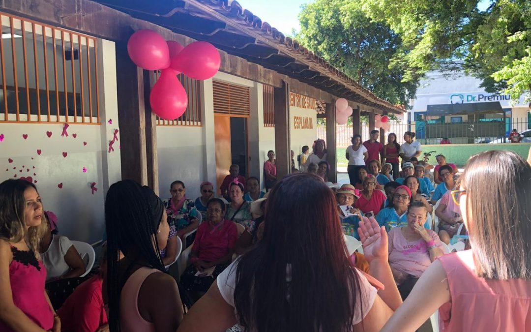 Cliente Vivver – Outubro Rosa: Prefeitura de MOC realiza ações de conscientização em diversas unidades de saúde