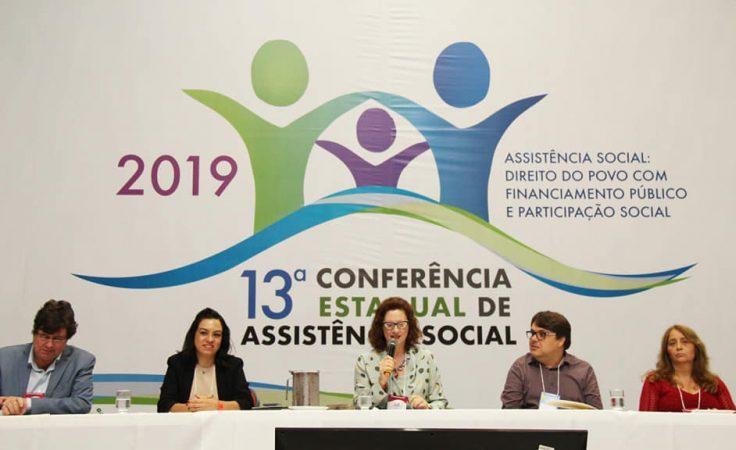 Evento – 13ª Conferência Estadual de Assistência Social