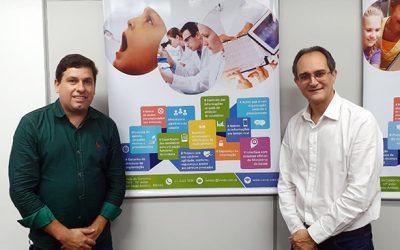 Cliente Vivver – Secretário Municipal de Saúde de Cláudio/MG visita sede da Vivver em BH