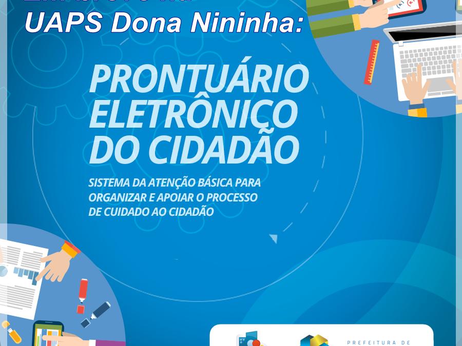 Cliente Vivver – Implantação do Prontuário Eletrônico do Cidadão é iniciada na UAPS Dona Nininha em Taiobeiras/MG