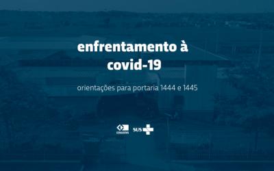 Coronavírus – Publicadas portarias que criam Centros de Atendimento e Centros Comunitários de enfrentamento à Covid-19