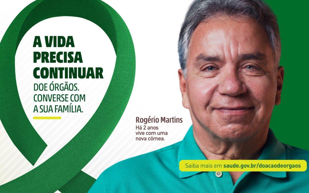 Conscientização – Ministério da Saúde lança campanha: Doe órgãos. A vida precisa continuar