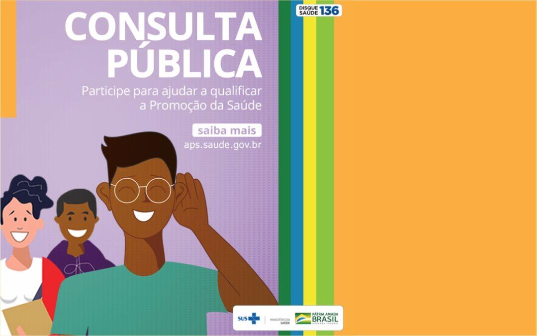 Ministério da Saúde quer ouvir a população sobre a qualificação da Promoção da Saúde