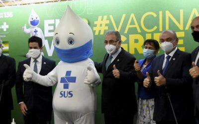 Saúde Pública – Vacinação contra gripe começou nesta segunda-feira (12)