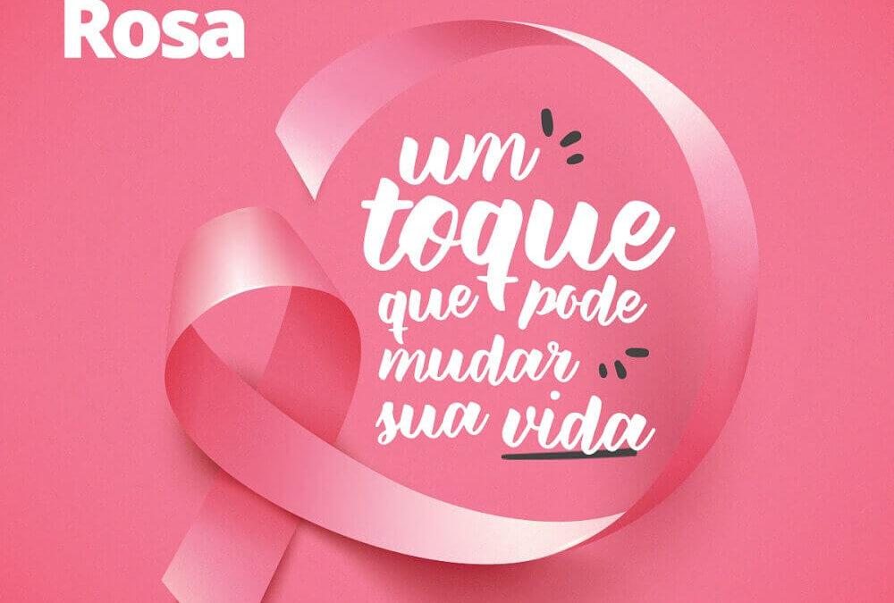 Outubro Rosa – prevenção e diagnóstico precoce do câncer de mama